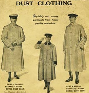 dust clothing