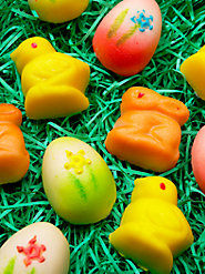 Easter Marzipan Candy