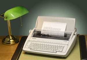 Our Vermont Country Store Portable Manual Typewriter