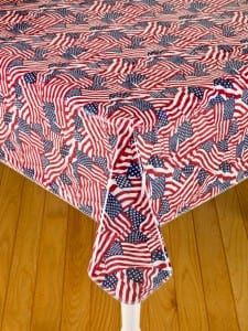 Oilcoth Tablecloth a Summer Camp Classic