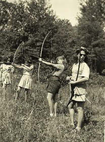vintage archery photo