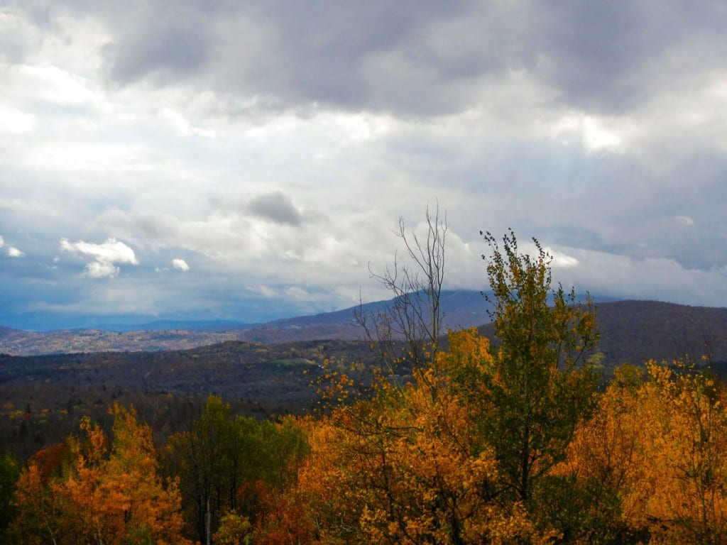 Autumn view from Route 11