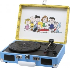 Peanuts and Gang Portable Record Player
