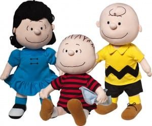 Plush Peanuts Dolls