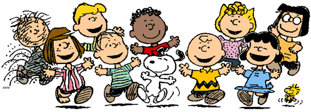 Happy 65th Anniversary To Charlie Brown and the Peanuts gang!