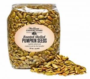 Roasted, Shelled Pumpkin Seeds