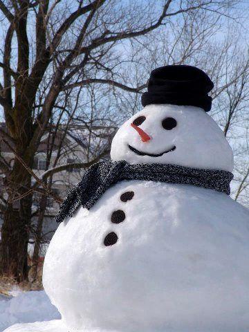 Vermont snowman