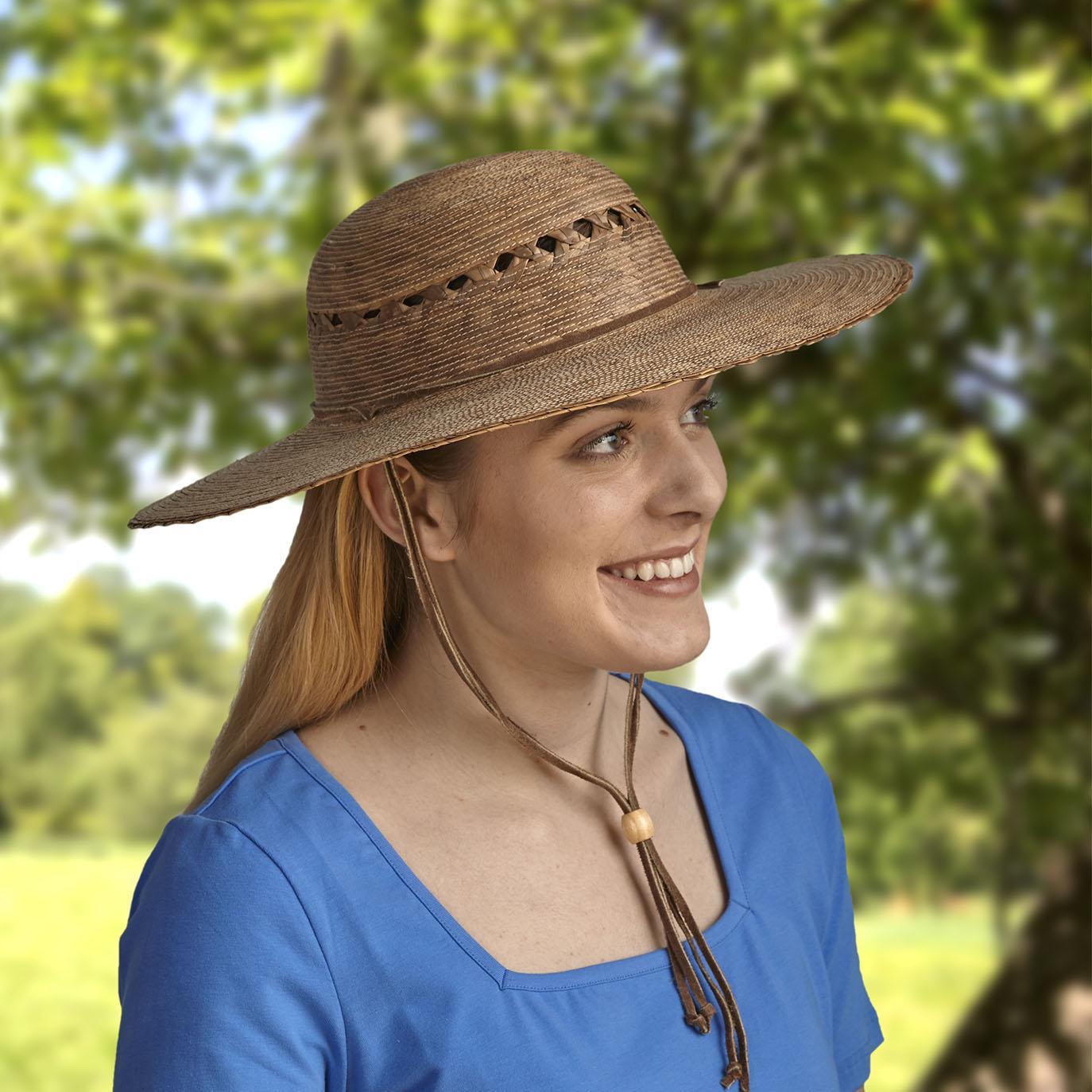 Award-winning Gardening Hat offers 50+ UPF sun protection.