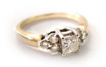 Customer's Diamond Ring