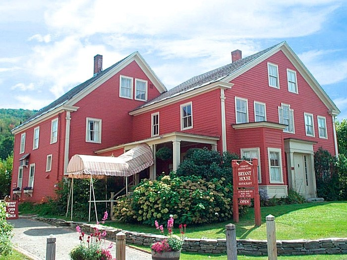 The Bryant House Among Top-Rated Mom & Pop Restaurants in Vermont