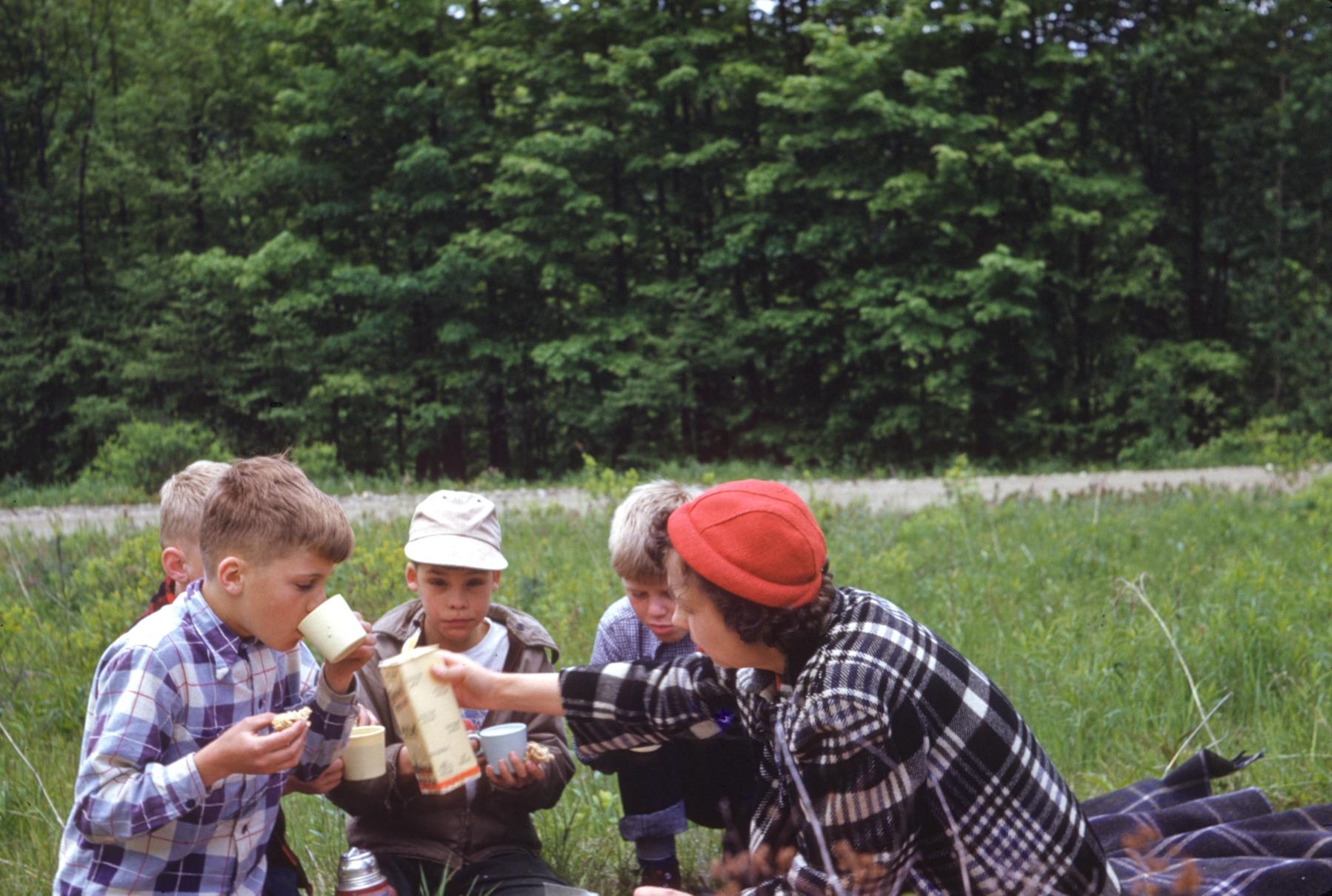 Mildred Orton picnics