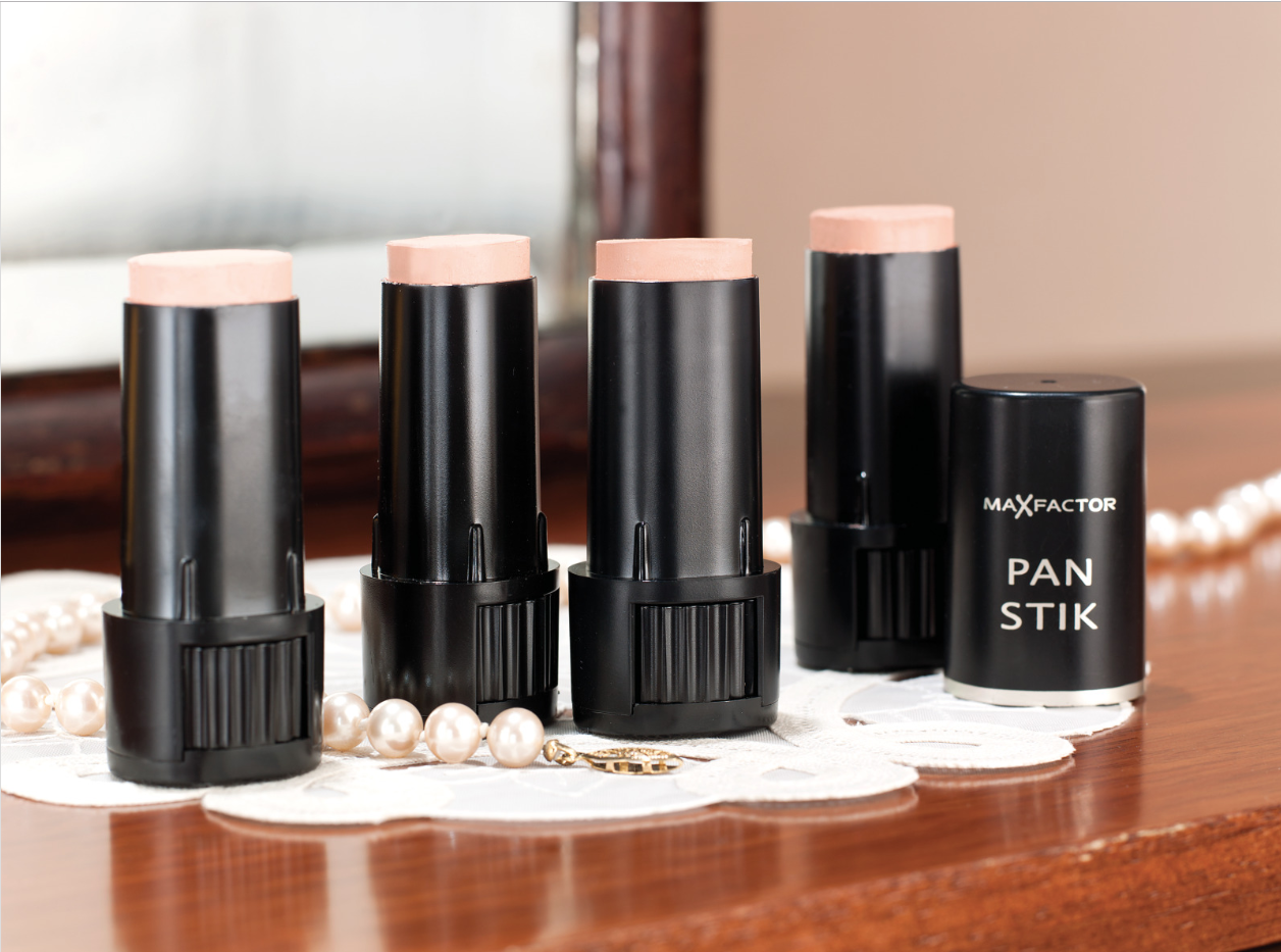 shades of max factor pan stik makeup