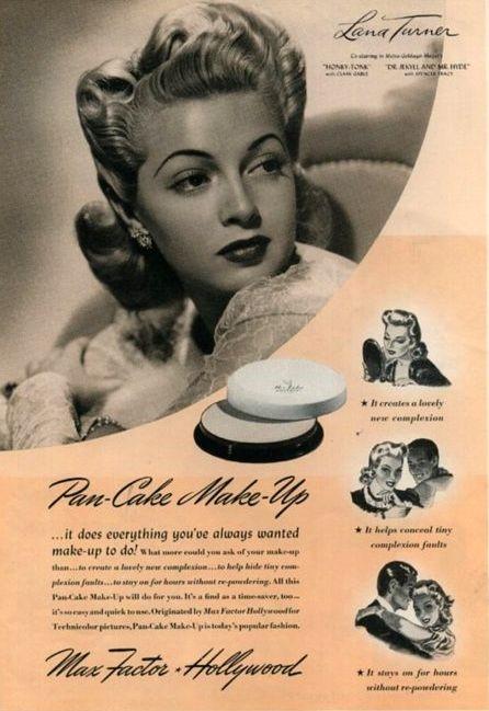 vintage max factor ad