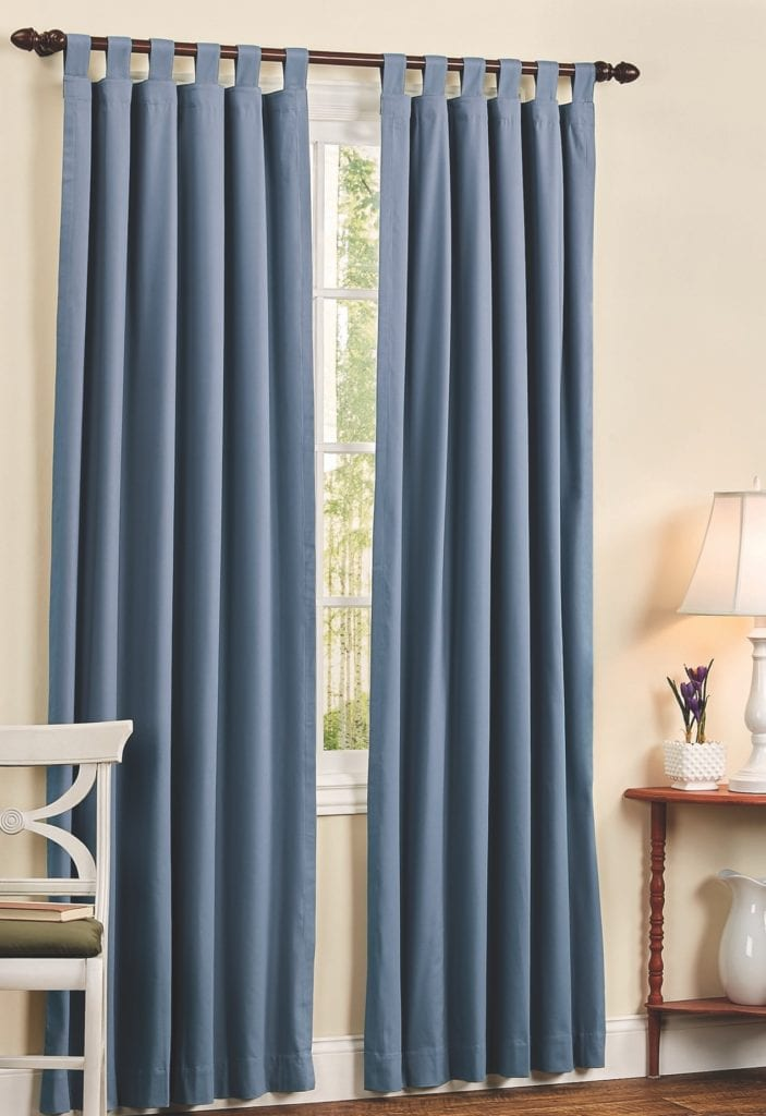 tab top curtains with insulation