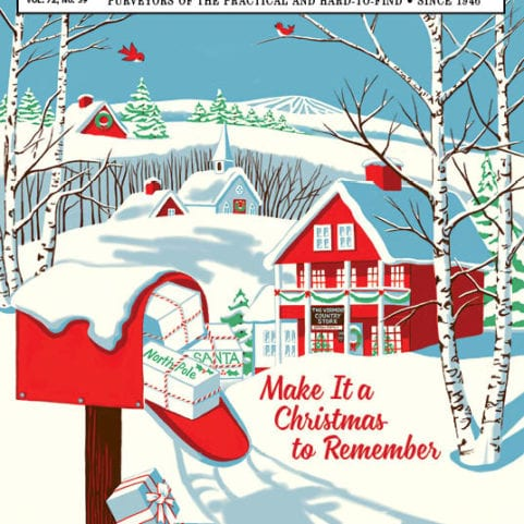 First 2018 Christmas Catalog Cover