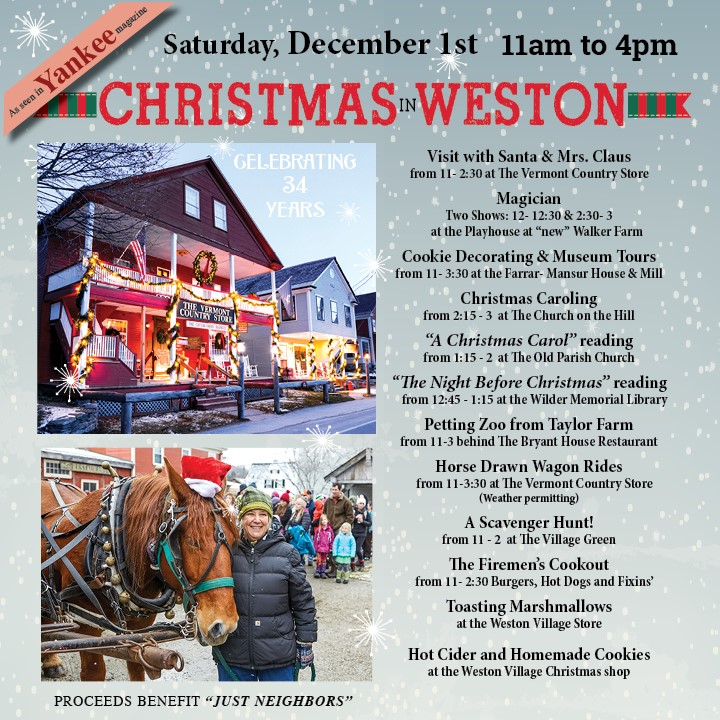 Christmas in Weston: Restore Your Spirit at Old Fashioned