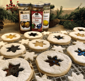 Cookie Swap Butter Cookies with Vermont Country Store Jams