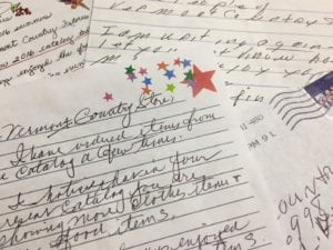 customer letters to The Vermont Country Store