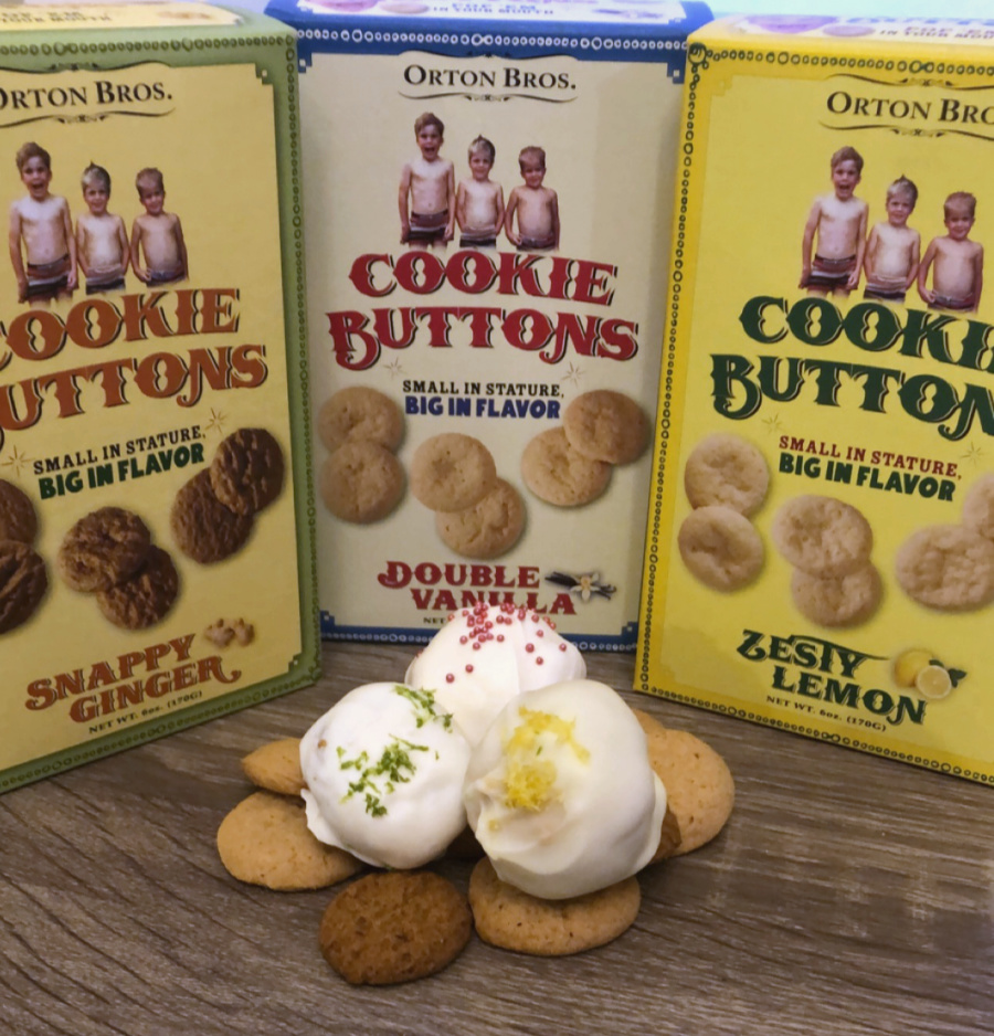 Cookie Button Truffles