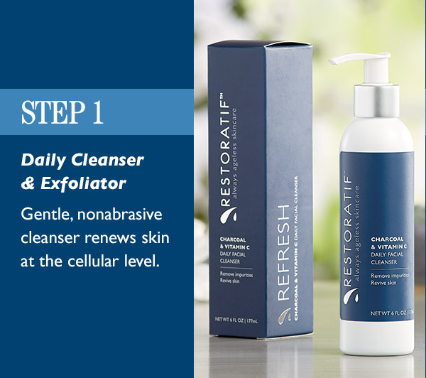 Skincare step 1: gentle cleanser