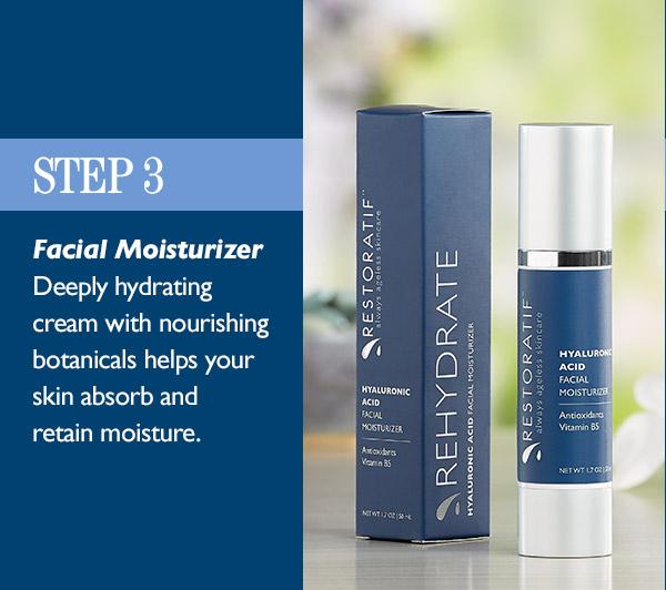 Skincare Step 3: Moisturize
