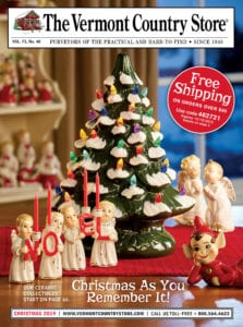 Vermont Country Store Christmas Catalog Cover