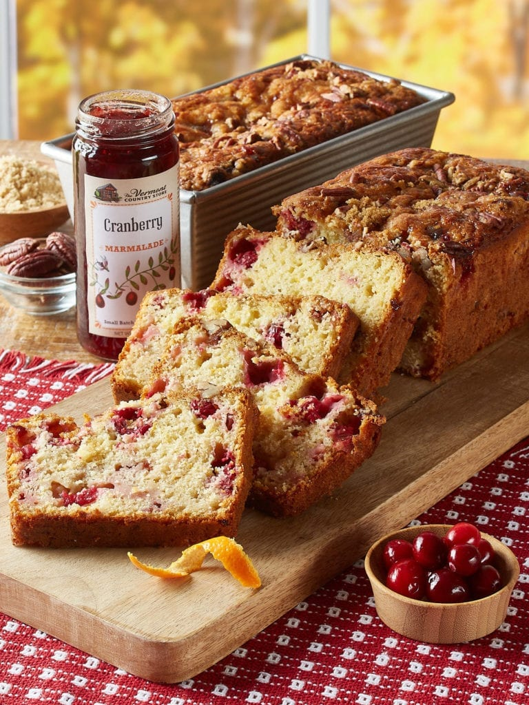 Cranberry Orange Quickbread