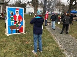 Santa Photo Board