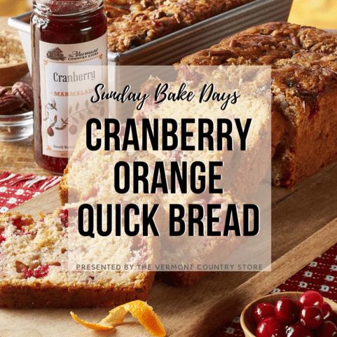 Cranberry Orange Quickbread