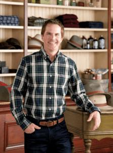 orton brothers tartan oxford shirt