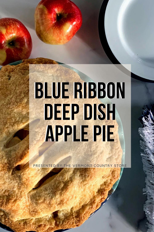 Blue-ribbon deep-dish apple pie