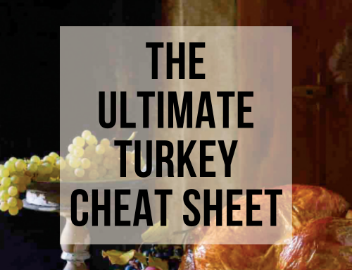 The Ultimate Turkey Cheat Sheet