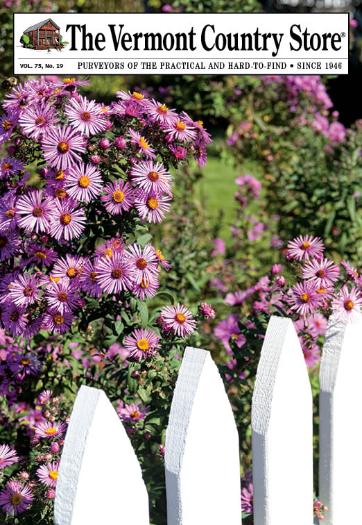 Picket fence in Vermont