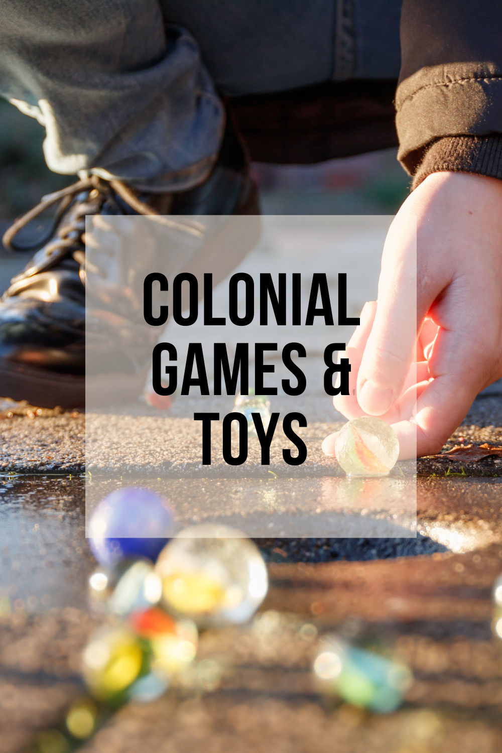 Colonial Games & Toys